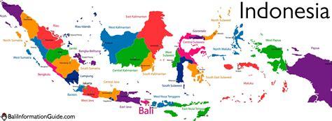 bali indonesia detailed maps   island  region