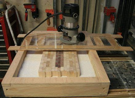 router sled  flattening  grain cutting boards