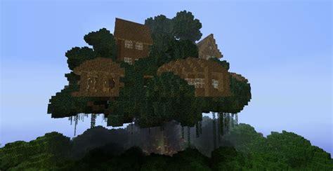 biggest treehouse  minecraft design decor  decorating ideas minecraft pinterest