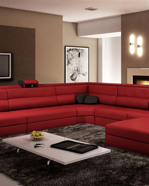 polaris italian leather sectional sofa polaris dark red italian leather sectional sofa italian