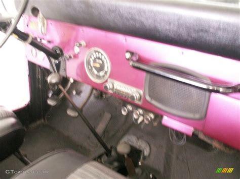 purple jeep interior 1972 custom purple amc jeep cj5 60934755 photo 4