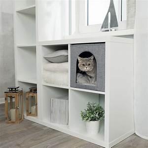 Katzenhöhle Für Regal : trixie katzen kuschelh hle ella f r regal 44087 von trixie g nstig bestellen ~ Frokenaadalensverden.com Haus und Dekorationen