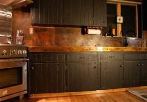 copper kitchen backsplash ideas copper backsplash for a distinctive kitchen with unique character