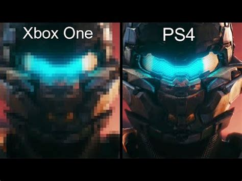 Kaos One One Graphic 5 halo 5 xbox one vs ps4 graphics comparison