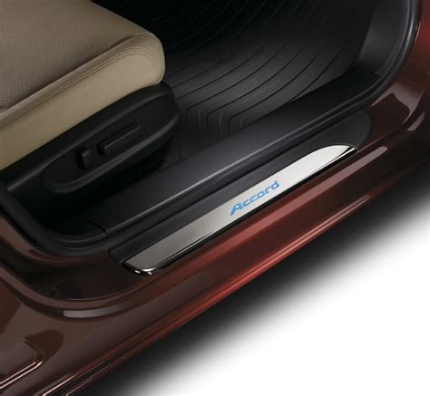 honda accord dr illuminated door sill trim