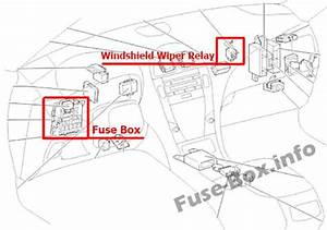 Fuse Box Diagram Lexus Es350  Xv40  Gsv40  2006