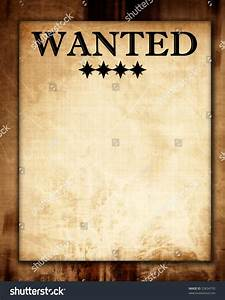 Old Wanted Paper Some Stains Spots Stock Illustration ...