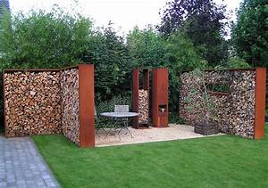 Garden, Divider, Houtopslag