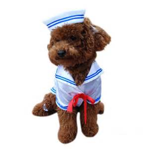 Dog Sailor Costume Boy