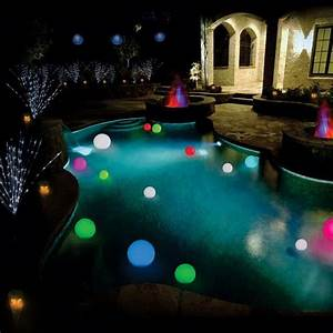 Floating Solar Pool Lights Led Love It Http Trinorthlighting Com Store Images