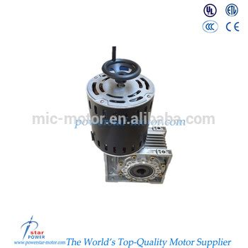 Motor Electric Mic by 135w 60hz 1750 1450 Rpm Electric Motor With Reduction Gear