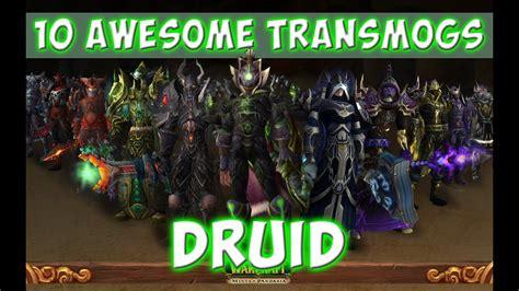 druid transmog sets warcraft awesome
