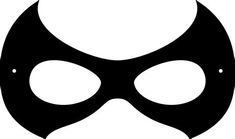 Mask Clip Robin Clipart Mask Pencil And In Color Robin Clipart Mask