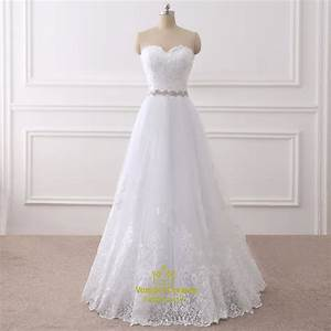 white lace overlay floor length wedding dress with beaded With lace overlay wedding dress