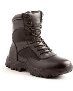 Men's Black Work Boots