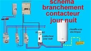 Contact Jour Nuit : schema electrique branchemant cablage contacteur jour nuit with contacteur jour nuit branchement ~ Farleysfitness.com Idées de Décoration
