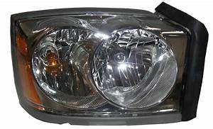 New Replacement Chrome Headlight Assembly Rh    For 2005