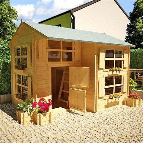 Keter Woodland Storage Shed Dimensions by The Billyoh Mad Dash Annex Log Cabin Wooden Playhouse