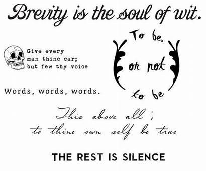 Tattoo Thereadingroom Tattoos Silence Literary