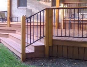 metal deck railing ideas indoor and outdoor design ideas