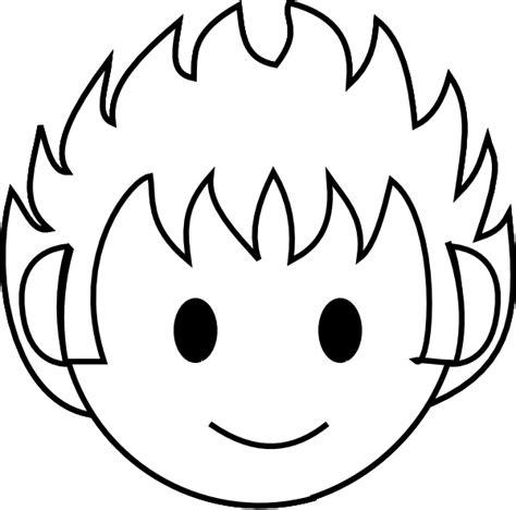 boy face template   clip art  clip art  clipart library