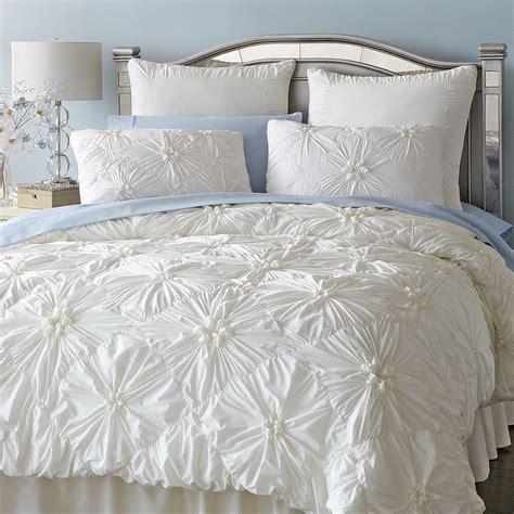 Bedroom Using White Duvet Cover Queen For Gorgeous