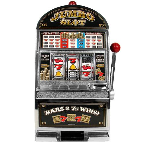 Trademark Games Jumbo Slot Machine Bank1041440 The