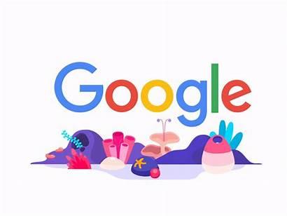 Google Doodle Dribbble Seo Doodles Company Birthday