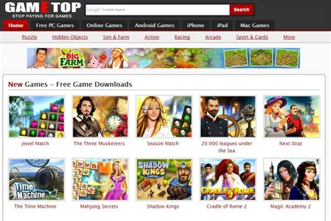 top   websites   pc games high quality