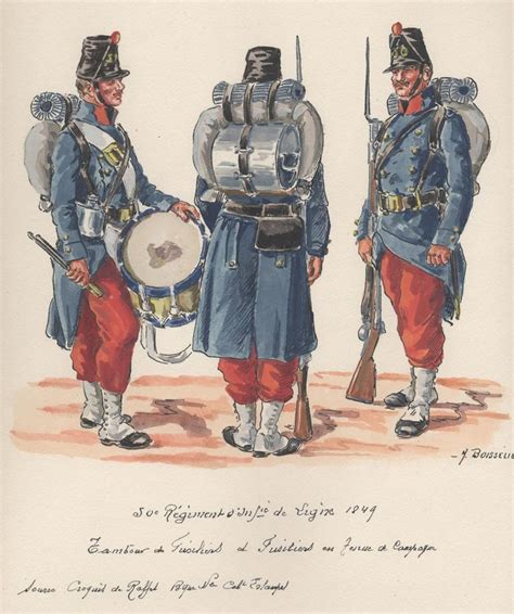 siege 3 suisses siege of rome 1849 50th line infantry fusilier drummer