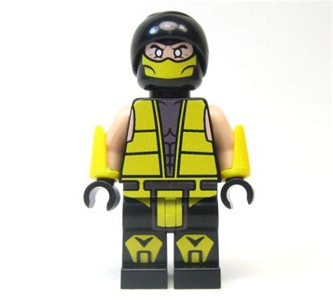 Lego Custom Mortal Kombat Video Game Karate Ninja Ninjago