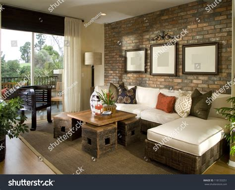 Beautiful Living Room Architecture Stock Images Stock Photo 118133251