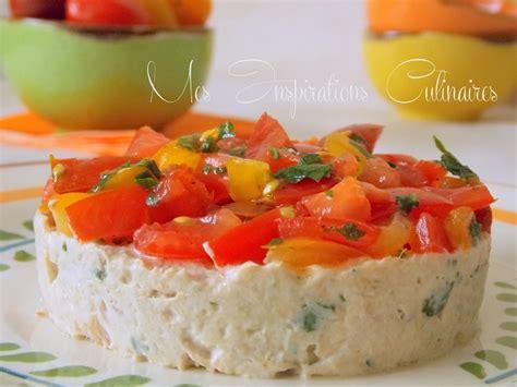cuisine indienne facile tartare de tomates aux rillettes de thon le cuisine