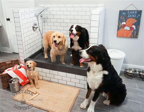 hometalk diy dog shower