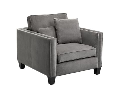 Cathedral Portsmouth Grey Fabric Arm Chair