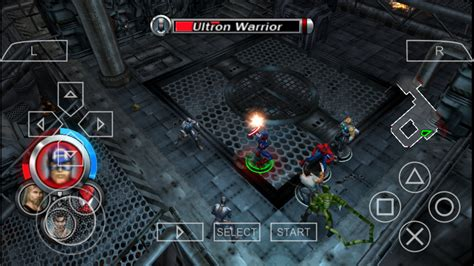 Marvel Ultimate Alliance Psp Cso Free Download & Ppsspp