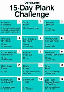 15 Day Plank Ch... Plank Challenge