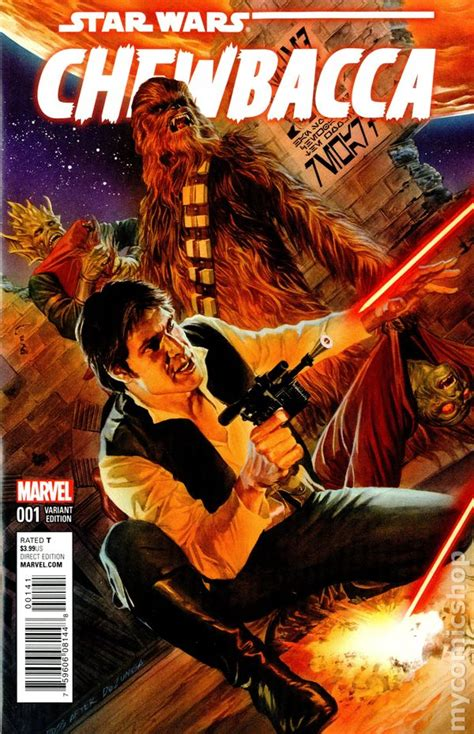 star wars chewbacca  marvel comic books