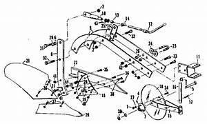 Craftsman Sears 10 Inch Moldboard Plow Parts