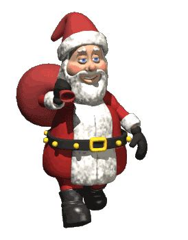 moving santa claus animated santa claus photos pictures images