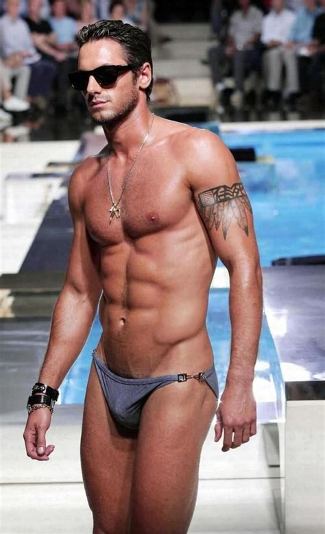 man bikini bathing suit model josh wald my favorite men