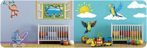 chambre de bébé jungle decoration jungle pour chambre