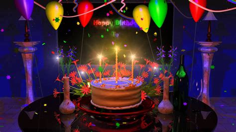 Animated Birthday Wallpaper - best happy birthday wallpaper 35 image collections of