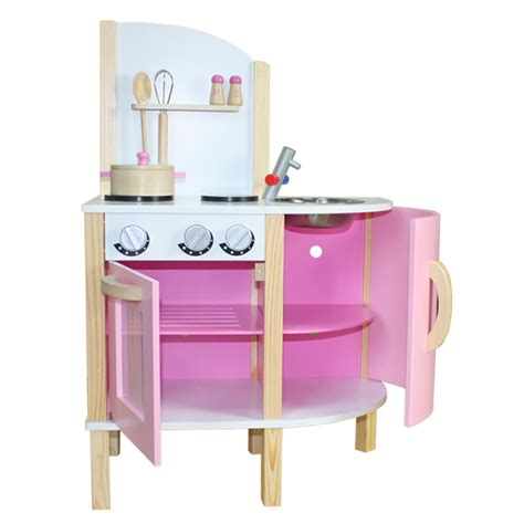kitchen accessories toys chef contemporary wooden kitchen pink with 2155