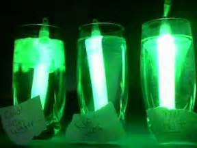 Glow Stick Science Fair Project