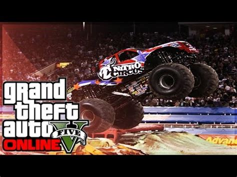 funny monster truck videos gta online monster truck city rampage funny moments gta 5
