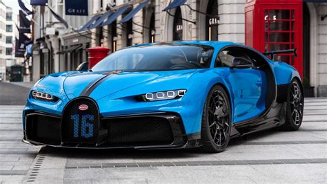 The bugatti veyron has etched a permanent place in automotive history with its legendary the famous bugatti test driver who virtually won all the major grand prix for the molsheim based brand 6. Bugatti Chiron Pur Sport shown in London