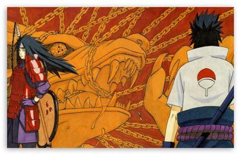 Sasuke & Madara Uchiha 4k Hd Desktop Wallpaper