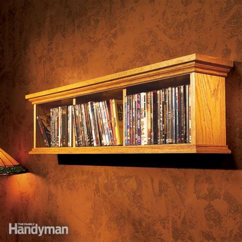 build a dvd cabinet how to build a wall cabinet for dvds the family handyman