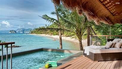 Island Resort Fiji Philippines Beach Wallpapers Palawan